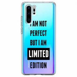 Etui na telefon Huawei P30 Pro - I Am not perfect…
