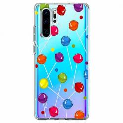 Etui na telefon Huawei P30 Pro - Kolorowe lizaki.