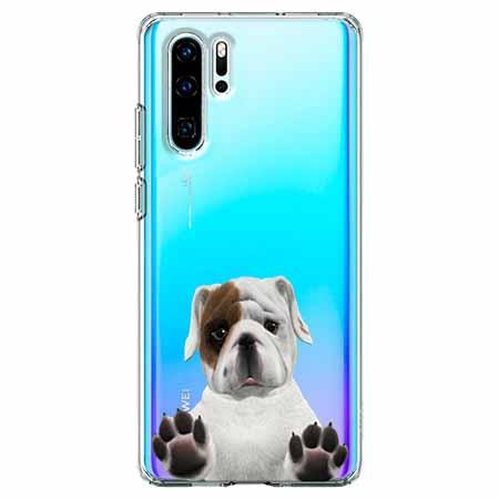 Etui na telefon Huawei P30 Pro - Słodki szczeniaczek.