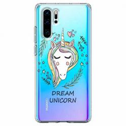 Etui na telefon Huawei P30 Pro - Dream unicorn - Jednorożec.
