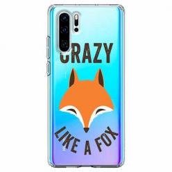 Etui na telefon Huawei P30 Pro - Crazy like a fox.