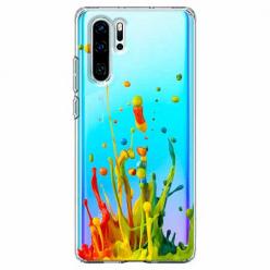 Etui na telefon Huawei P30 Pro - Kolorowy splash.