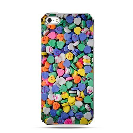 Etui na Apple iPhone 6 plus - Cukierkowe serca
