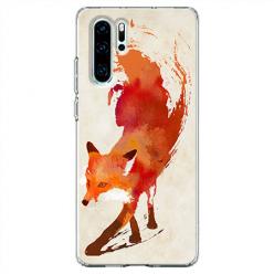 Etui na telefon Huawei P30 Pro - Lis watercolor