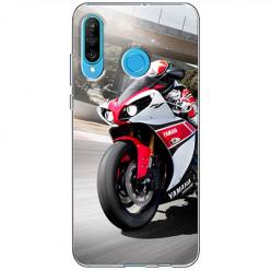 Etui na telefon Huawei P30 Lite - Motocykl ścigacz