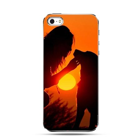 Etui na Apple iPhone 6 plus - Kobieta z psem