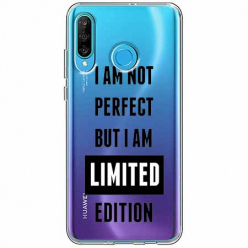 Etui na telefon Huawei P30 Lite - I Am not perfect…
