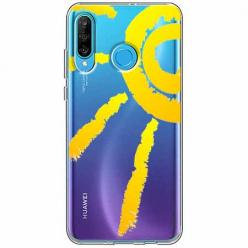 Etui na telefon Huawei P30 Lite - Wakacyjne słońce.