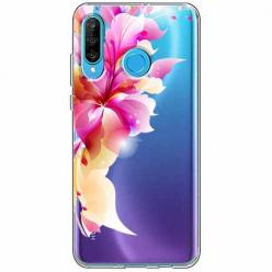 Etui na telefon Huawei P30 Lite - Bajeczny kwiat.