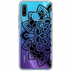 Etui na telefon Huawei P30 Lite - Kwiatowa mandala.