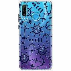 Etui na telefon Huawei P30 Lite - Ahoj wilki morskie.
