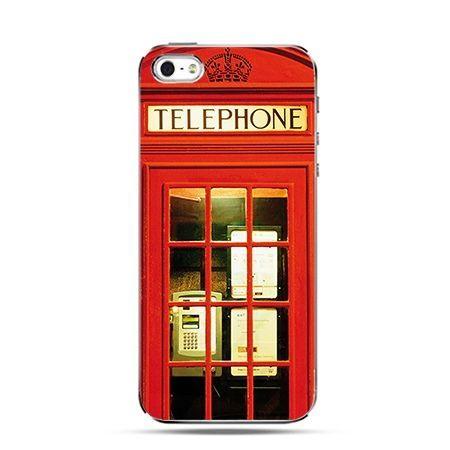 Etui na Apple iPhone 6 plus - Czerwona budka telefoniczna