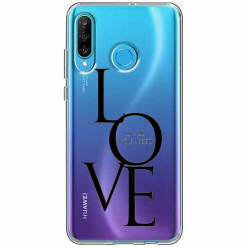 Etui na telefon Huawei P30 Lite - All you need is LOVE.