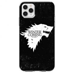 Etui na telefon Apple iPhone 11 Pro Max - Winter is coming White