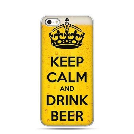 Etui na Apple iPhone 6 plus - Keep Calm and Drink Beer