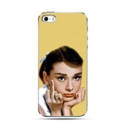 Etui na Apple iPhone 6 plus - Audrey Hepburn fuck you