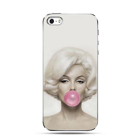 Etui na iPhone 6 plus - Monroe z gumą balonową