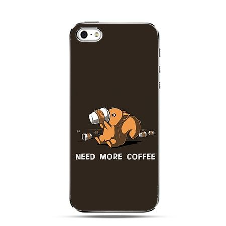 Etui na Apple iPhone 6 plus - Kawa need more coffee