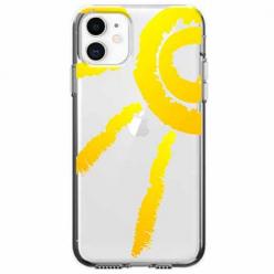 Etui na telefon Apple iPhone 11 - Wakacyjne słońce.