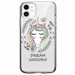Etui na telefon Apple iPhone 11 - Dream unicorn - Jednorożec.