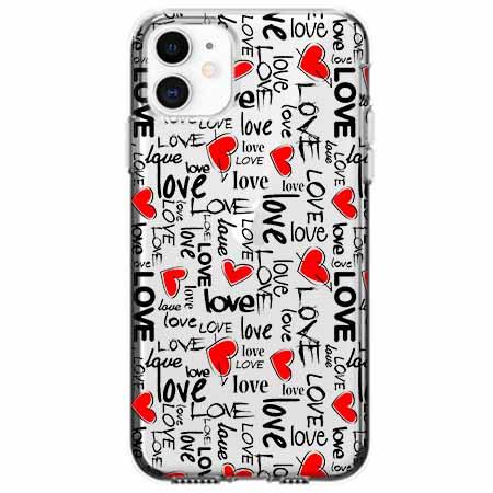 Etui na telefon Apple iPhone 11 - Love, love, love…