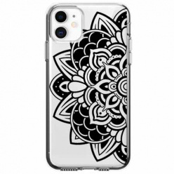 Etui na telefon Apple iPhone 11 - Kwiatowa mandala.