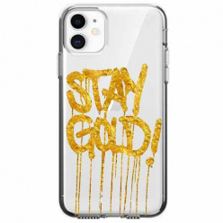 Etui na telefon Apple iPhone 11 - Stay Gold.