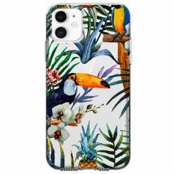 Etui na telefon Apple iPhone 11 - Egzotyczne tukany.