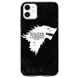 Etui na telefon Apple iPhone 11 - Winter is coming White
