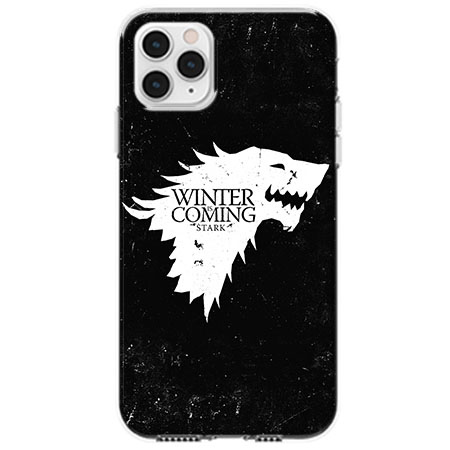Etui na telefon Apple iPhone 11 Pro - Winter is coming White
