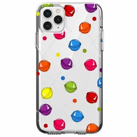 Etui na telefon Apple iPhone 11 Pro - Kolorowe lizaki.