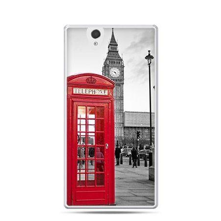 Big Ben Londyn etui z nadrukiem dla  Xperia Z