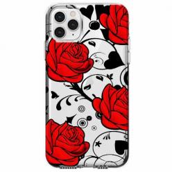 Etui na telefon Apple iPhone 11 Pro - Czerwone róże.