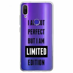 Etui na Xiaomi Redmi Note 7 Pro - I Am not perfect…