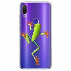 Etui na Xiaomi Redmi Note 7 Pro - Zielona żabka.