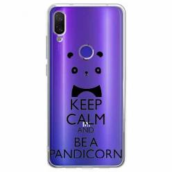 Etui na Xiaomi Redmi Note 7 Pro - Keep Calm… Pandicorn.