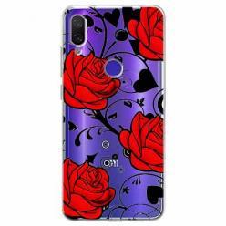 Etui na Xiaomi Redmi Note 7 Pro - Czerwone róże.