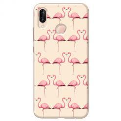 Etui na Huawei P20 Lite - Flamingi