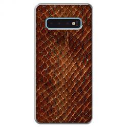 Etui na Samsung Galaxy S10 - Skóra węża