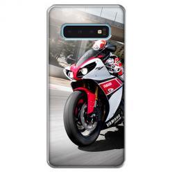 Etui na Samsung Galaxy S10 - Motocykl ścigacz