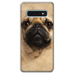 Etui na Samsung Galaxy S10 - Pies Szczeniak face 3d