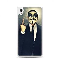 Fuck you anonimus etui z nadrukiem dla  Xperia Z2