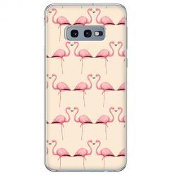 Etui na Samsung Galaxy S10e - Flamingi