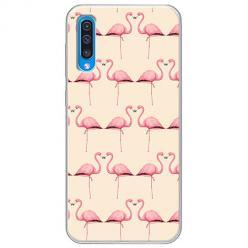 Etui na Samsung Galaxy A50 - Flamingi