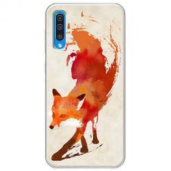 Etui na Samsung Galaxy A50 - Lis watercolor