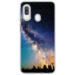 Etui na Samsung Galaxy A20e - Droga mleczna Galaktyka
