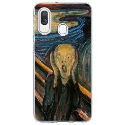 Etui na Samsung Galaxy A20e - Krzyk Munka