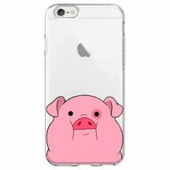 Etui na iPhone 6 - Słodka różowa świnka
