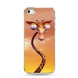 Etui na telefon pokręcona żyrafa
