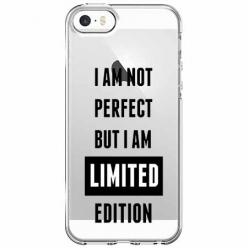 Etui na iPhone 5 , 5s - I Am not perfect…